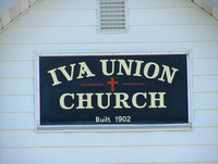 IVA UNION CHURCH:  JEFFERSON TWP., PIKE COUNTY, IN. PROOFS