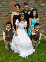 FAMILY HECTOR AND GUADALOUPE'S Ashley's First Communion